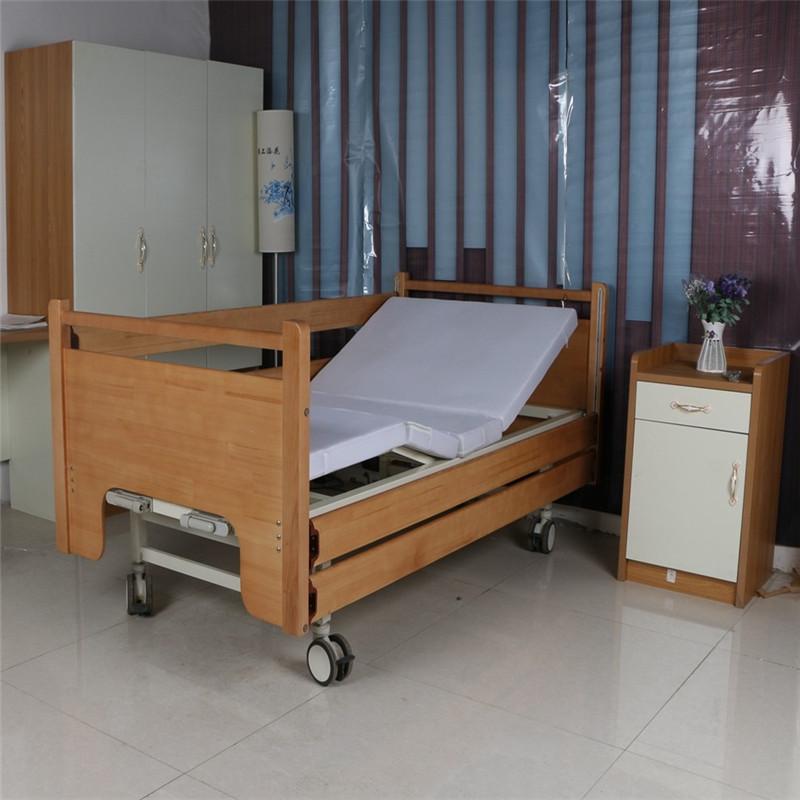 金康桥 养老院护理床 家用瘫痪老年病人医疗病床 实木床头