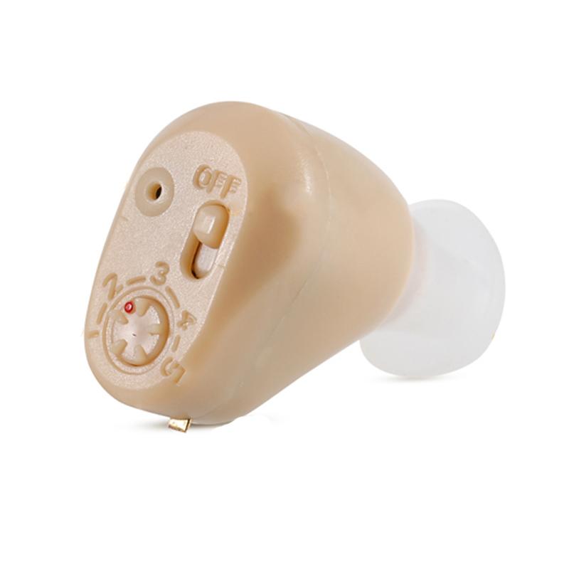 谷米助听器 老人耳内式可充电型隐形入耳式老年人助听器 USB座充电式ZDC-900B