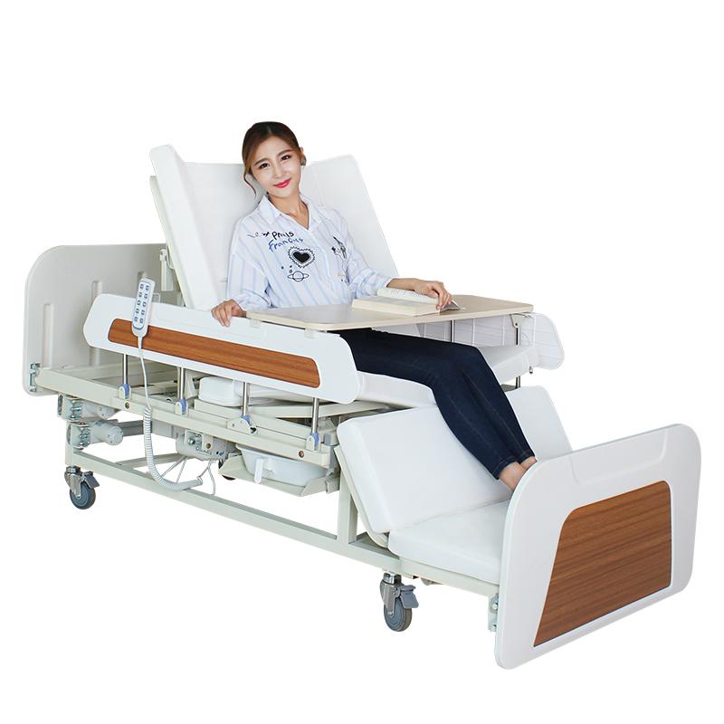 迈德斯特 护理床家用老人瘫痪病人多功能翻身医用医疗病床 MD-E39X【防侧滑下滑+电动便孔】