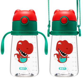 杯具熊beddybear萌宠系列学饮杯(380ML)恐龙