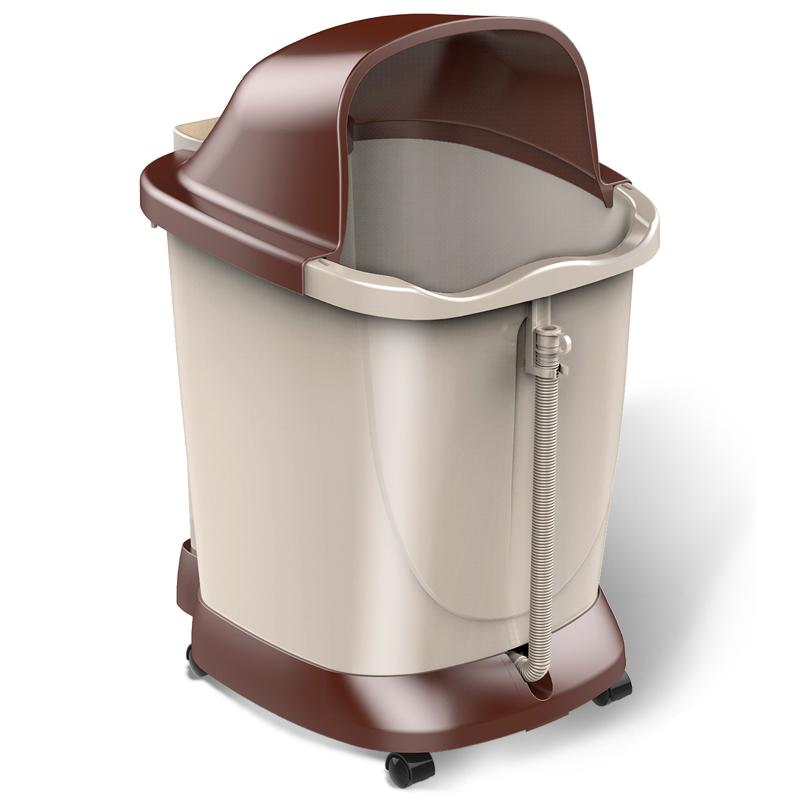 港德RD-657B 深桶足浴盆 足浴器洗脚盆 脚动标准款