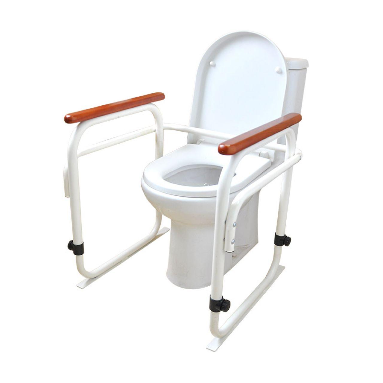 特高步 日本马桶安全扶手 卫生间厕所老人孕妇坐便辅助起身移动安全扶手防摔 EXH01