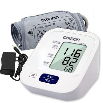 欧姆龙全自动电子智能血压计测量仪家用上臂式血压仪测压仪型号7121测量精准