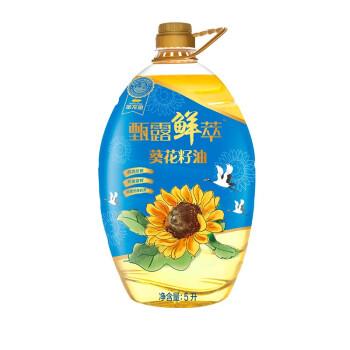 金龙鱼甄露鲜萃葵花籽油5L