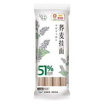 金龙鱼51优+荞麦挂面600G