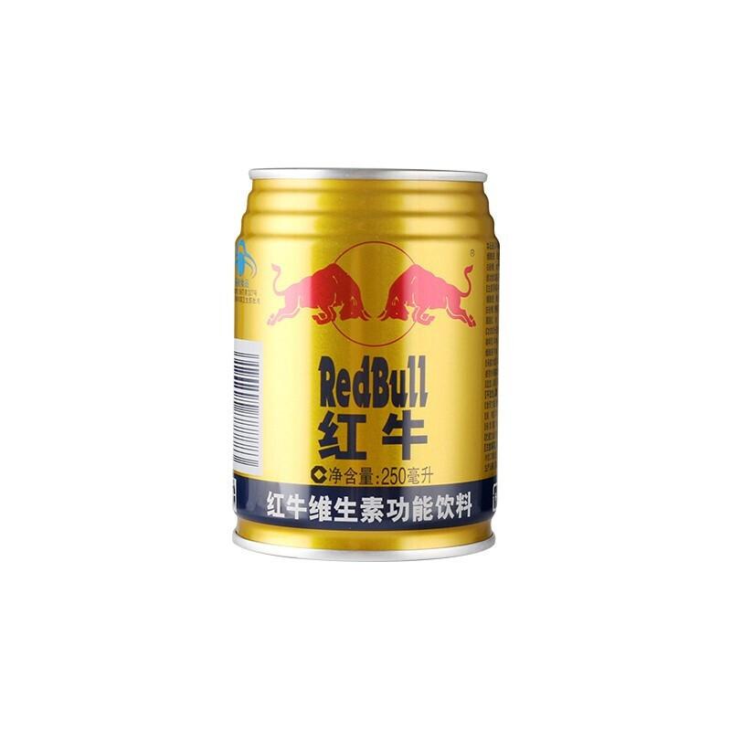 红牛维他命饮料六连包1*250ml*18罐