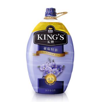 King's 亚麻籽油5L