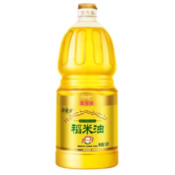 金龙鱼双一万稻米油1.8L*2(无礼盒)