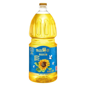 金龙鱼甄露鲜萃葵花籽油1.8L*2(无礼盒)