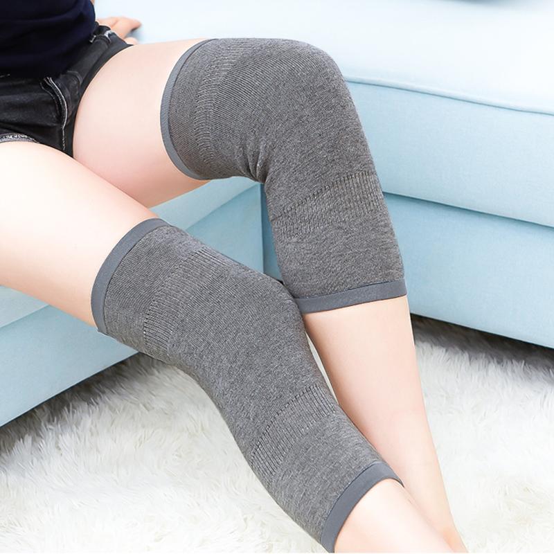 甲子羊毛羊绒护膝保暖关节炎风湿老寒腿运动护膝盖中老年人防寒护腿男女护具001 基础款