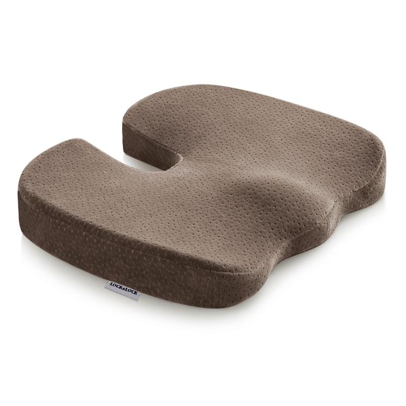 乐扣乐扣-祺盛U型坐垫 咖啡色: SH330001