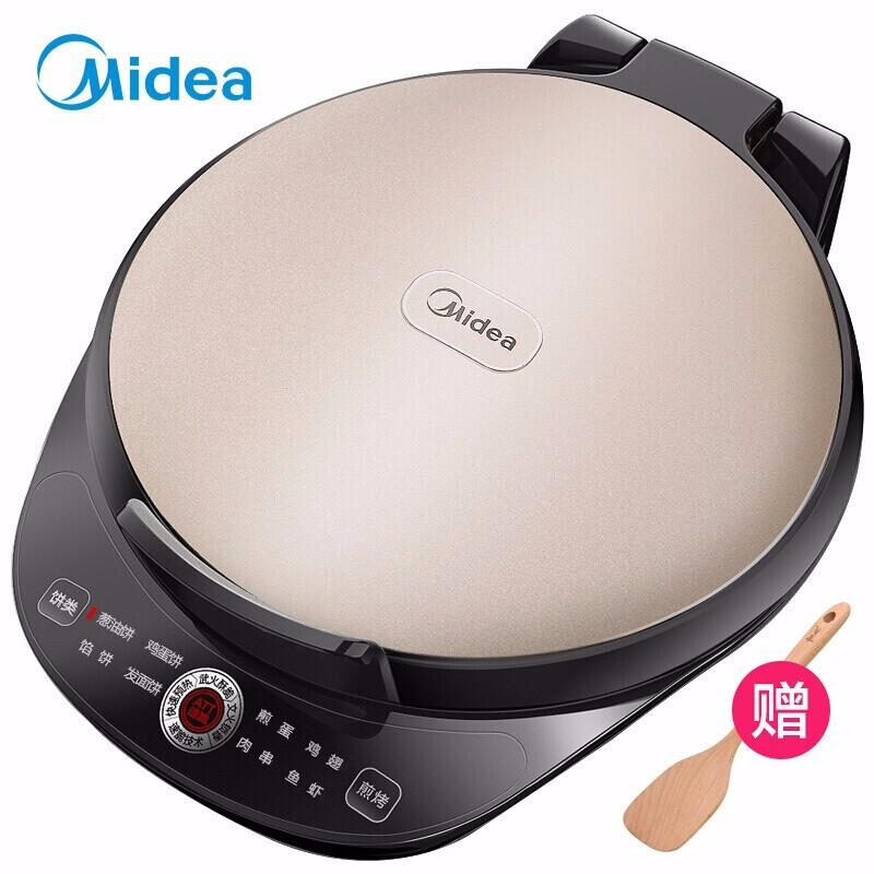 美的(Midea)电饼铛 家用电饼铛悬浮加深烤盘煎烤机 JK30Easy103(智能煎烤)