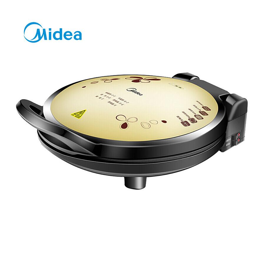 美的(Midea)电饼铛家用早餐机机械版煎烤机大烤盘烙饼机MC-JHN34Q