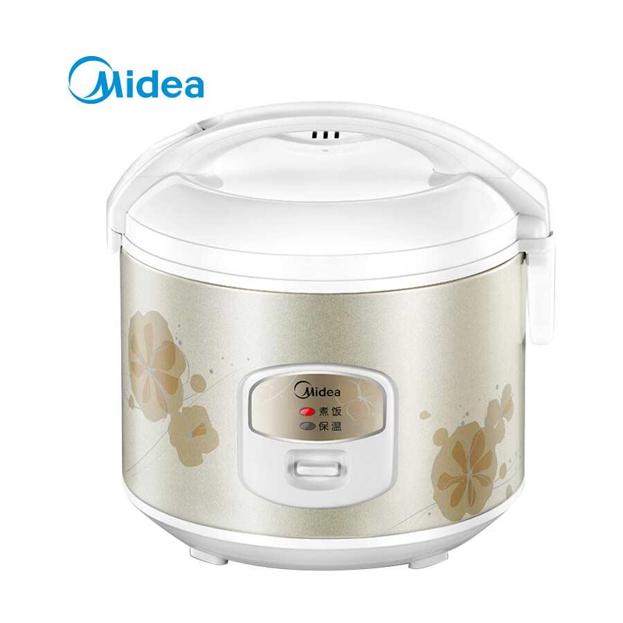 美的(Midea)电饭煲 精铸发热盘黑晶内胆家用 3升MB-WYJ301
