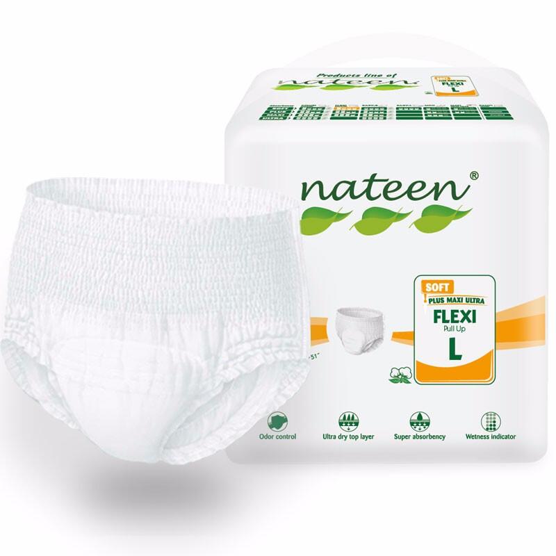 那特恩(NATEEN) 拉拉裤日用经济型L码(10片)适合腰围115-150CM