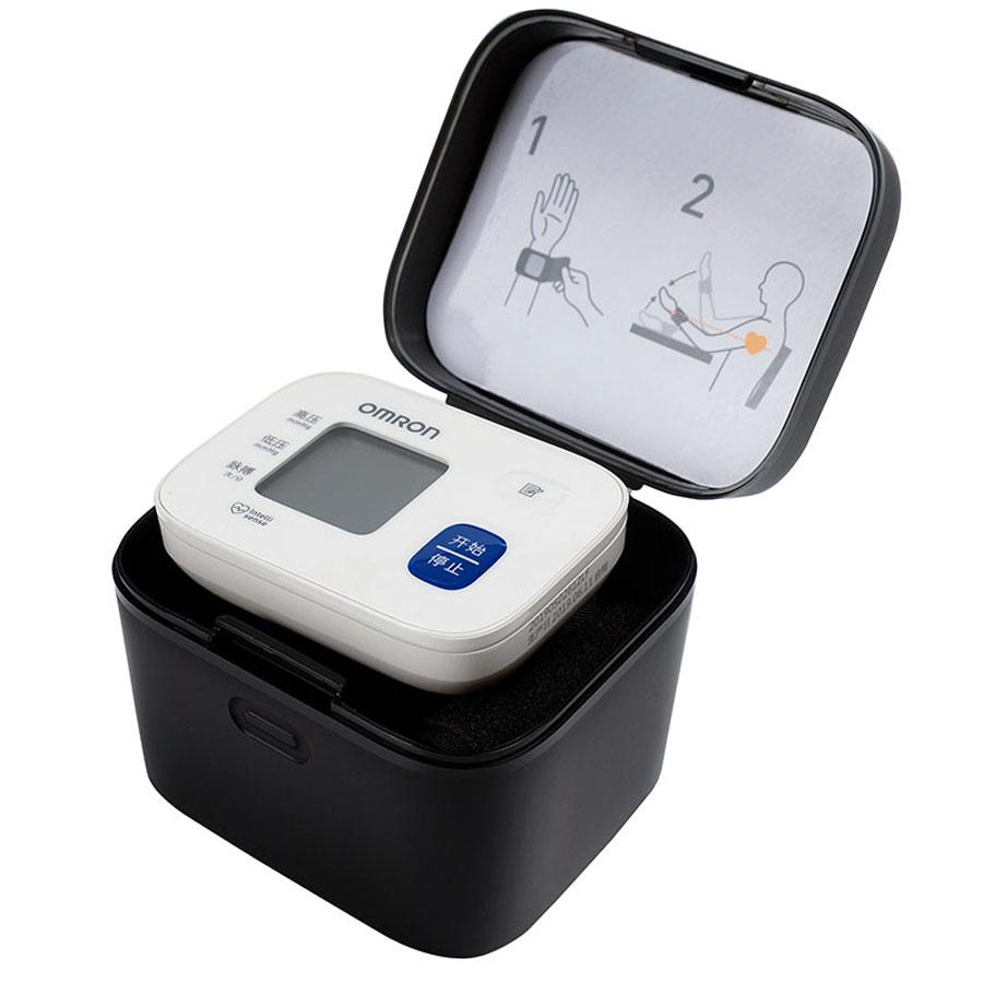 欧姆龙家用测量仪血压计电子手腕式量血压机仪器HEM-6161