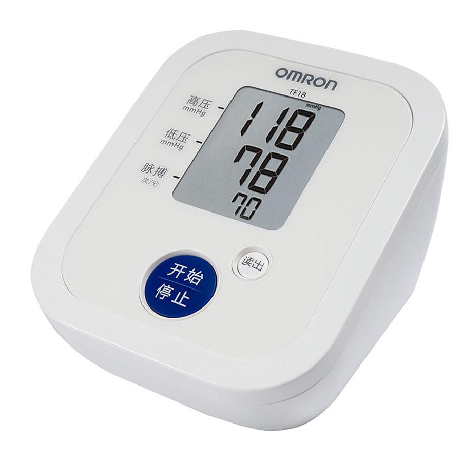 欧姆龙(OMRON)电子血压计医用家用上臂式全自动测量血压TF-18