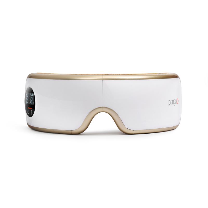 攀高(PANGAO)眼部按摩器气压热敷护眼仪(智能按摩眼镜)香槟金PG-2404G5