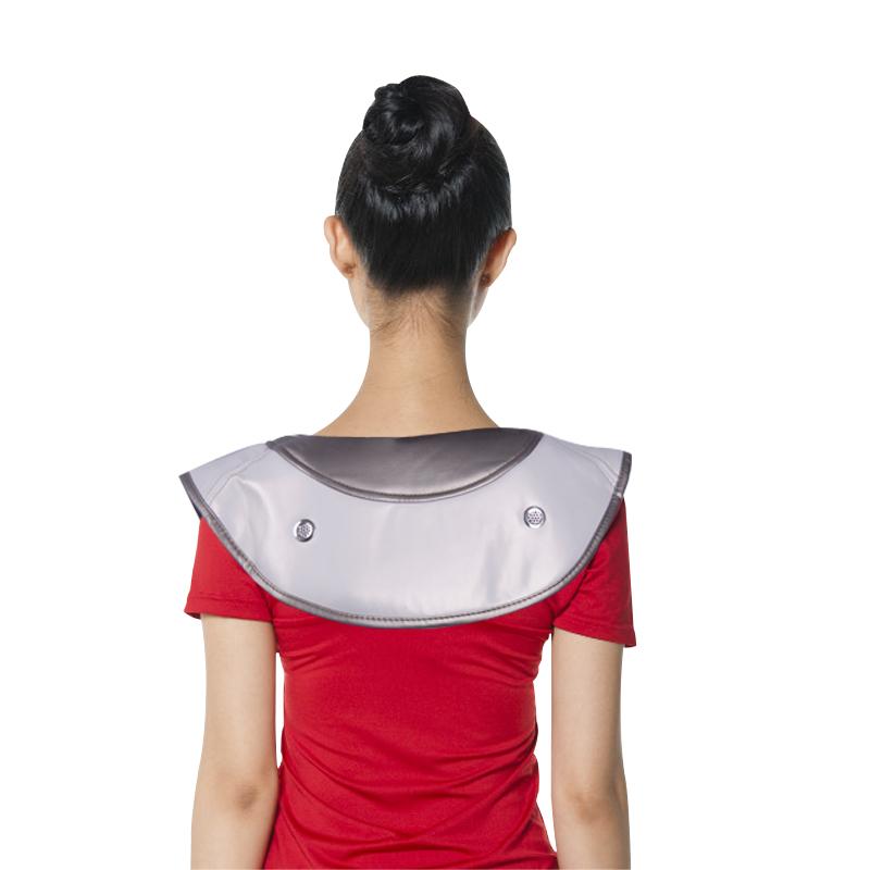 泰昌(Taicn)捶打按摩披肩 腰部颈椎按摩器 颈肩乐捶背器 浅灰色TC-Q005