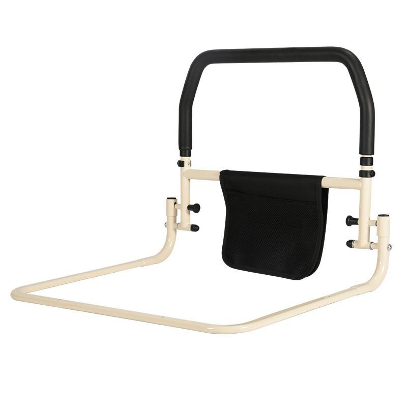 雅德老年人加高床边护栏舒适泡棉扶手辅助起身钢制加厚支架护理瘫痪 YC9201B(折叠款)