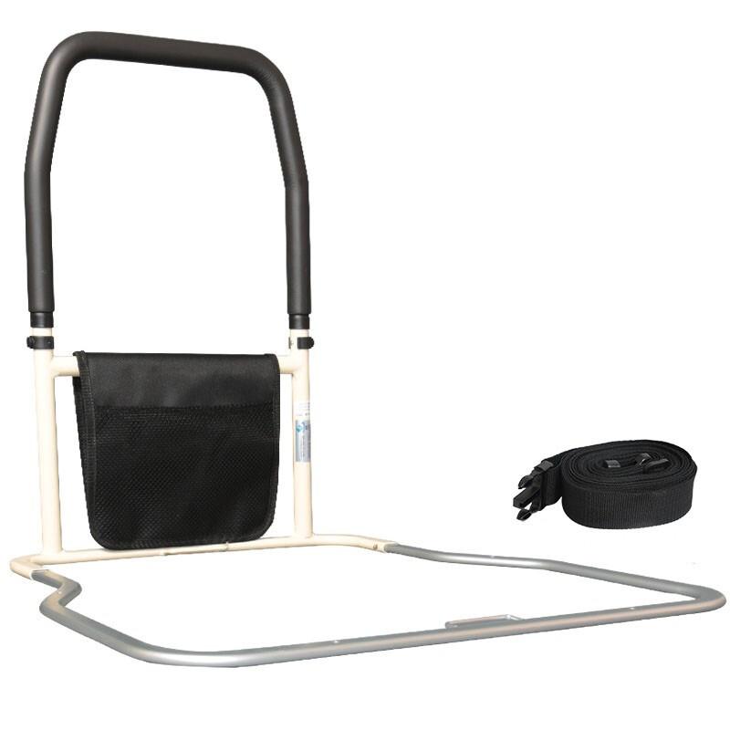 雅德老年人加高床边护栏舒适泡棉扶手辅助起身钢制加厚支架护理瘫痪 YC9100B(非折叠款)