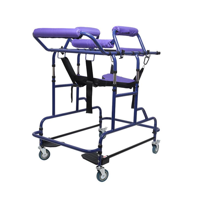 雅德 成人学步车助行器偏瘫复原康器 站立老人行走辅助器多功能助行架 YC2100