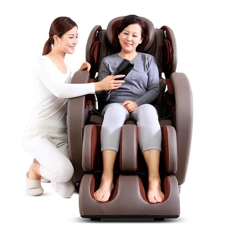 怡禾康按摩椅家用太空舱全身推拿揉捏多功能老年电动沙发豪华按摩椅YH-8700