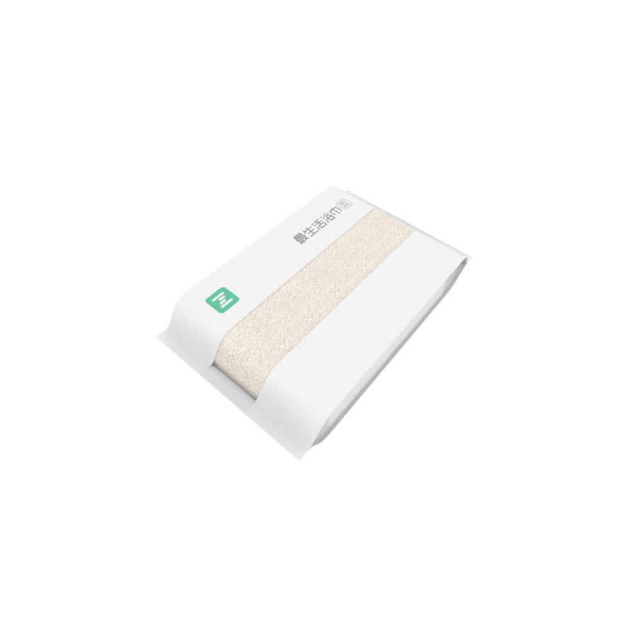 最生活A-1181小米浴巾 纯棉强吸水阿瓦提长绒棉 米色 70*140cm