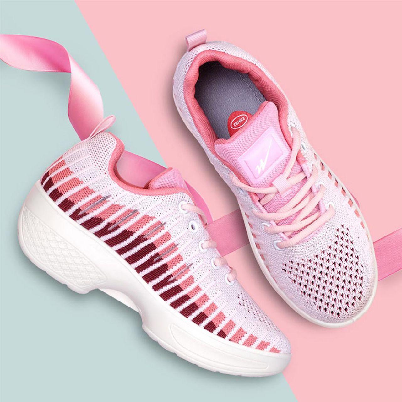 爱风尚广场健身鞋初恋舞鞋-粉色