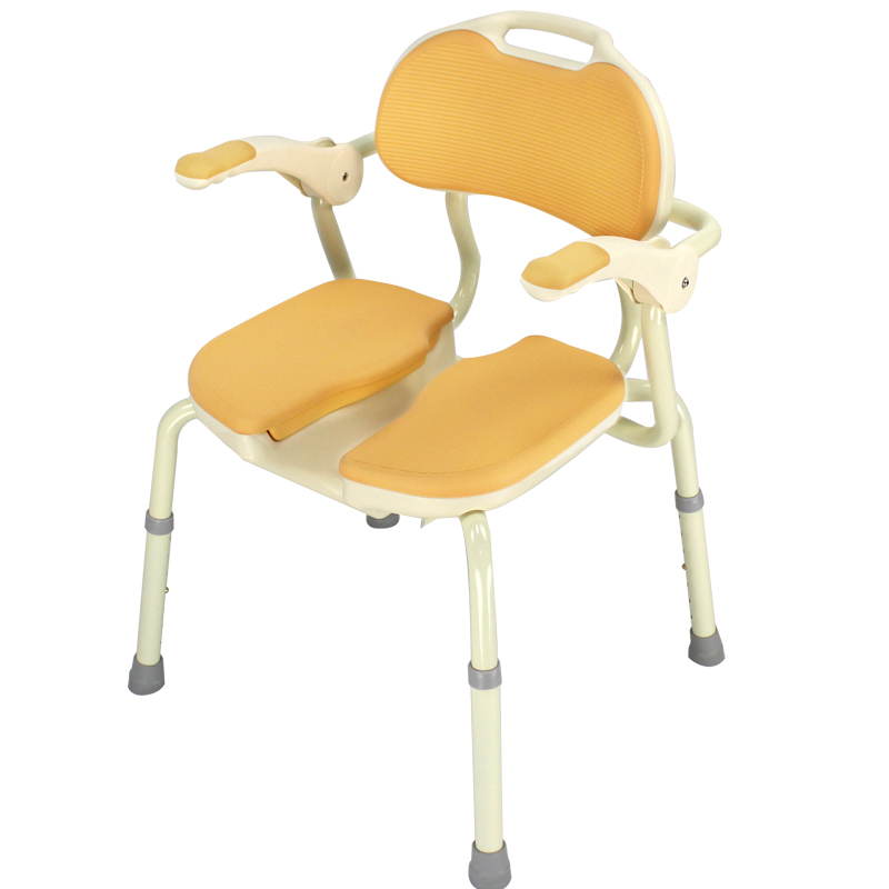 安寿 HP型防滑抗菌可调节扶手式洗澡椅