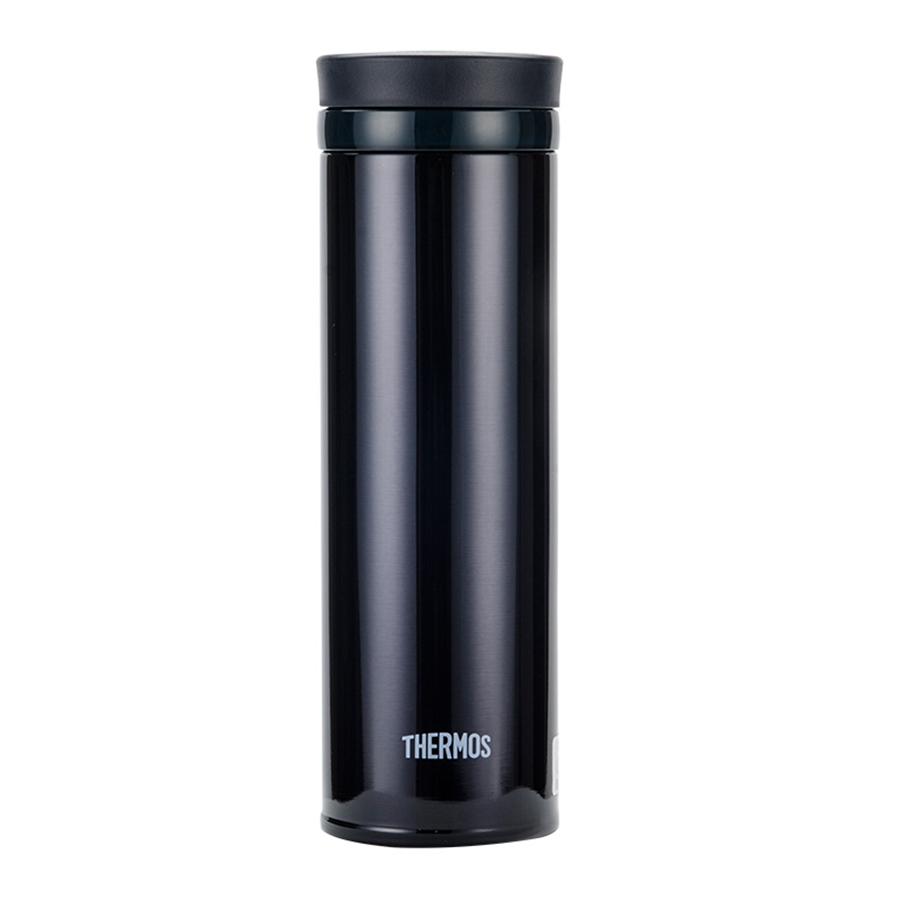膳魔师(THERMOS)保温杯超轻不锈钢保温杯车载水杯男女杯子500ml JNO-501 黑色