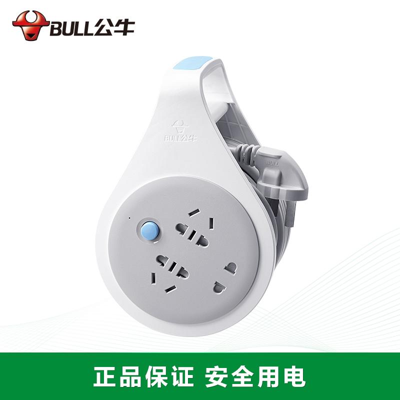 公牛新升级工程接线盘: GN-802(10米)
