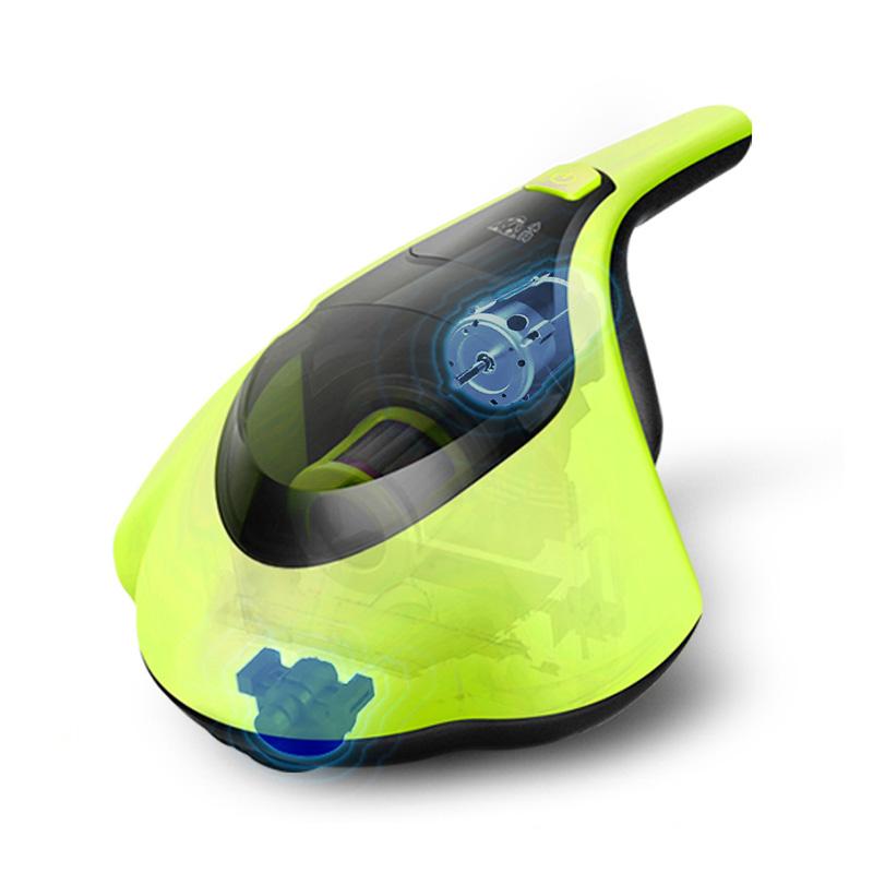 小狗(puppy)家用除螨仪紫外线床铺床褥上杀菌除螨虫小型迷你吸尘器D-608 绿色