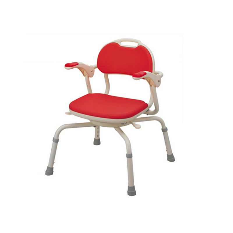 安寿 抗菌防滑扶手式洗澡椅洗澡凳360°旋转536-192