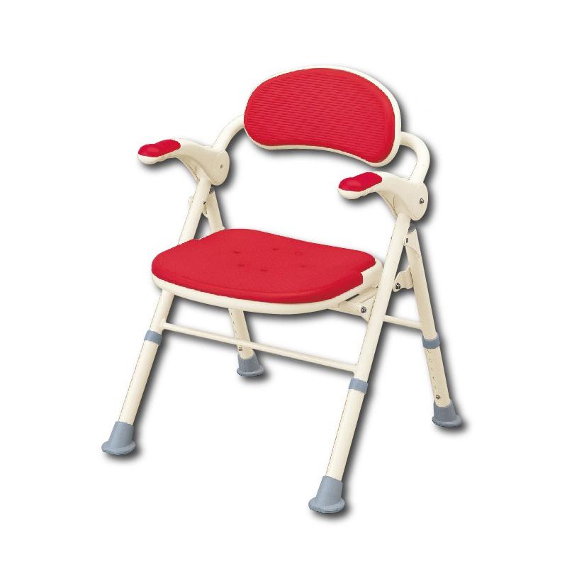 安寿 TS型抗菌防滑折叠式洗澡椅沐浴凳535-466