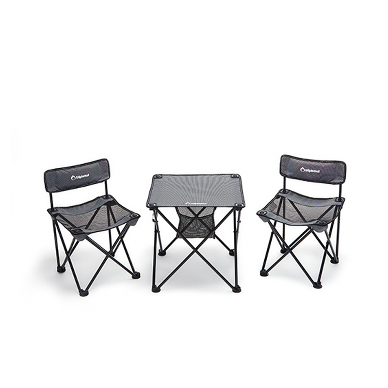 外交官折叠桌椅套装(2椅+1桌) DFJ-201*2+DFJ-202