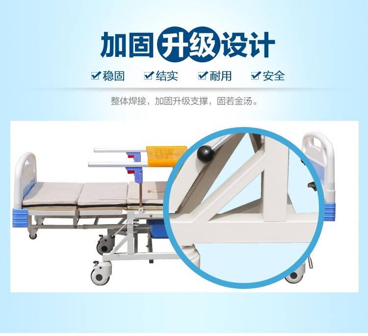 永辉医疗 C06 高级家具手摇护理床家用多功能医用床可翻身 2000*900*550mm
